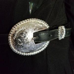 Tony Lama Leather Belt